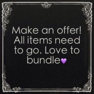 I LOVE OFFERS! USE BUNDLING FOR DEEPER DISCOUNTS!!